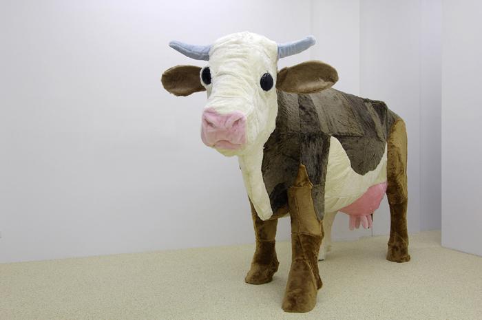 Große Kuh klein