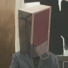 Mann mit Tüte Vorschau